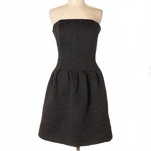 H&M Brocade Strapless Dress